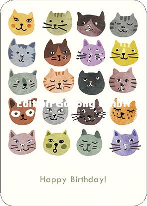 Augenkuss - Happy Birthday (Katten)