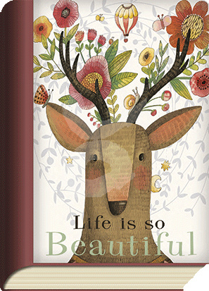 BookCard - Life is so Beautiful