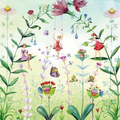 Kristiana Heinemann  - Tussen de bloemen