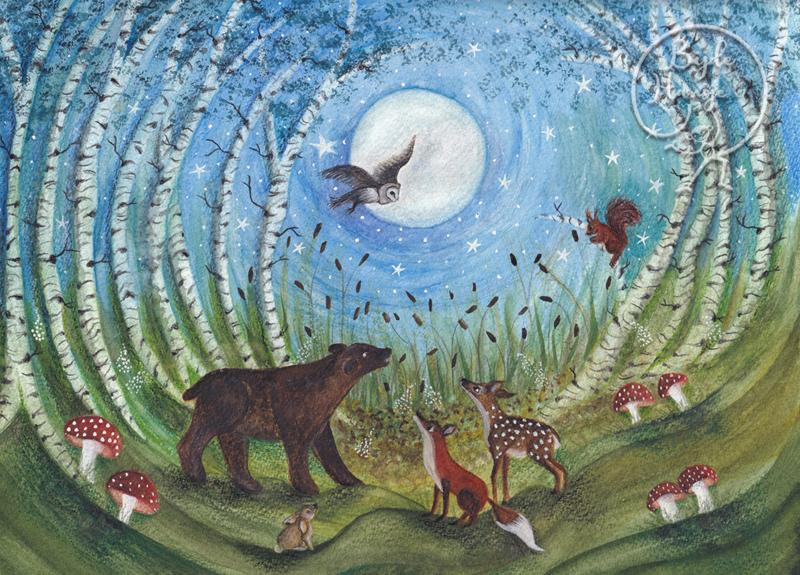 BijdeHansje - Woodland Creatures