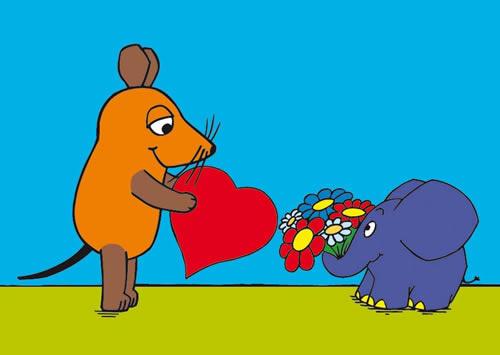 Die sendung mit der Maus  - Liefdesmuis