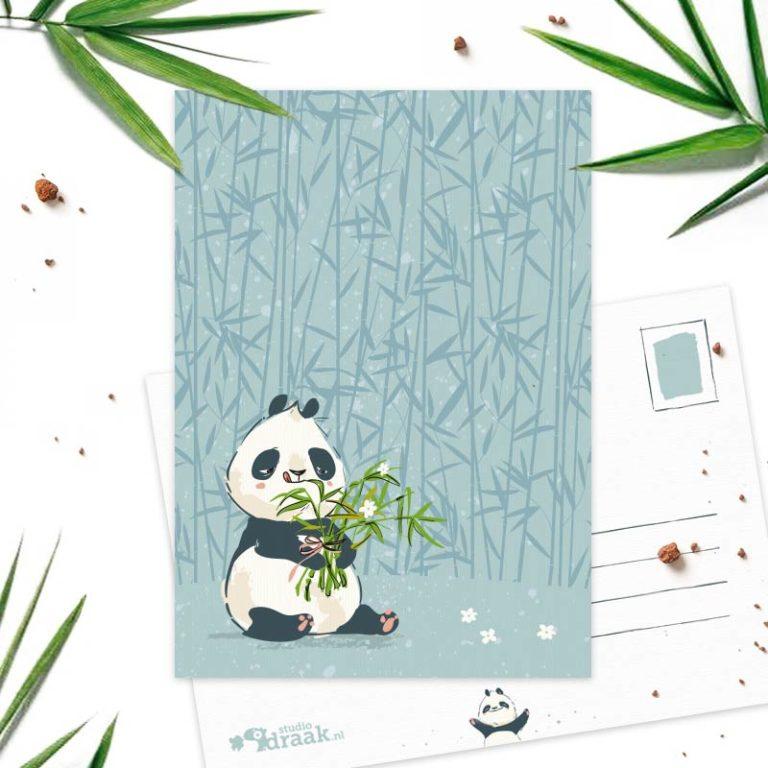 Studio Draak - 'Panda Party' Versie : Boeket