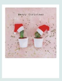 PolaCard - Merry Christmas (Cactus)