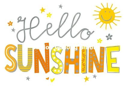 Edition Gollong - Hello Sunshine
