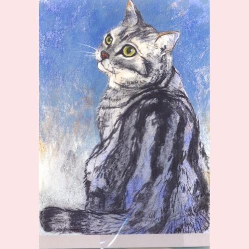 Loes Botman - Gestreepte kat