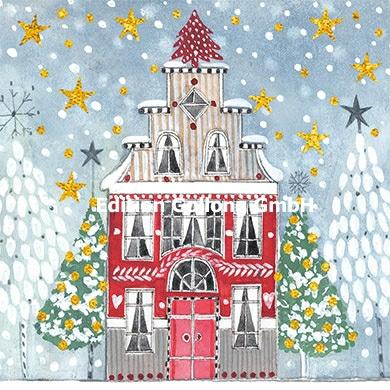 Kerstin Heß - Kerst huis