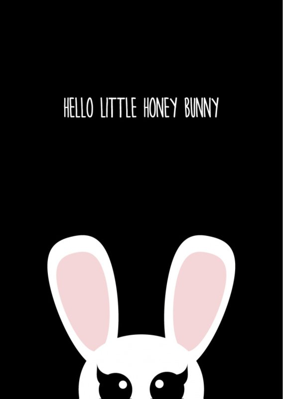Studio Inktvis - Hello little honey bunny (SI 009)
