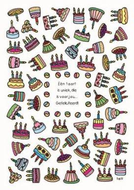 Lali - Één unieke taart ... gefeliciteerd!