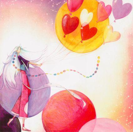 Kristiana Heinemann - Hartjes ballonnen