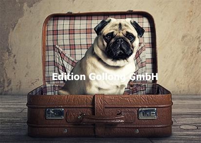 Fotolia - Mopshond in koffer