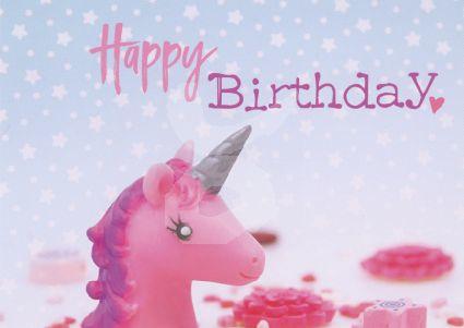 FotoEigenArt - Happy Birthday (Eenhoorn)