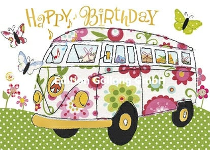 Carola Pabst - Happy Birthday (VW Bus)