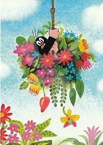 Het molletje - In de bloemen