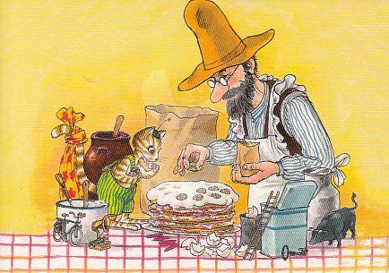 Sven Nordqvist - Pannenkoeken taart maken