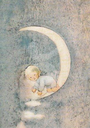Mili Weber - Little Fairy in a Silver Moon