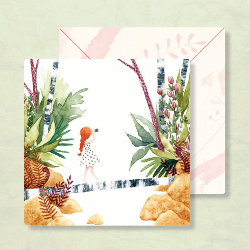 IsaBella Illustrations - In de natuur