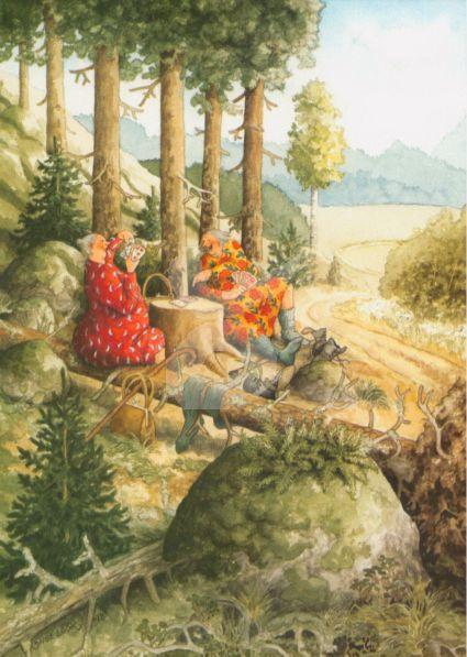 Inge Löök : Kaarten in het bos - NR 60