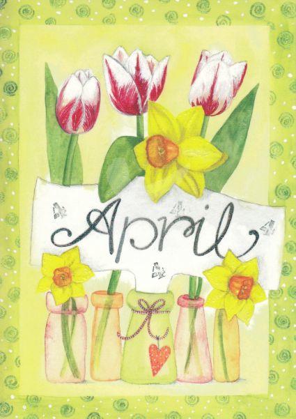 Inga Berkensträter - April