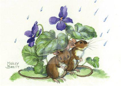 Molly Brett - Schuilen voor de regen