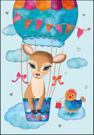 Sandra Brezina -  Ree in luchtballon