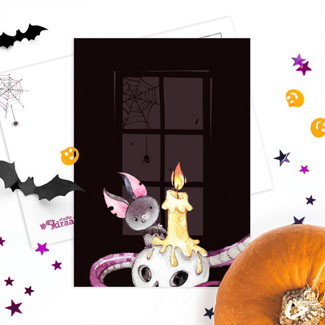 Studio Draak - 'Hallo Halloween' Kaars