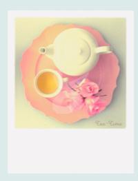 PolaCard - Tea time