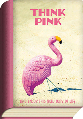 BookCard - Think pink