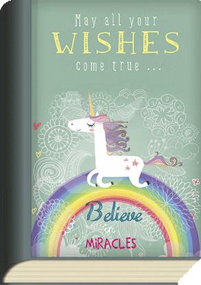 BookCard - Unicorn Wishes