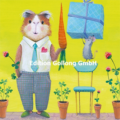 Mila Marquis - Muis geeft hamster een geschenk