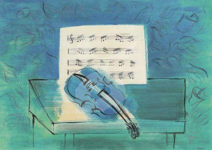 Raoul Duf y - The Blue Violin
