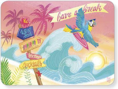 Editions des Correspondances : Surf door Audrey Bussi et Elisa Rochetain