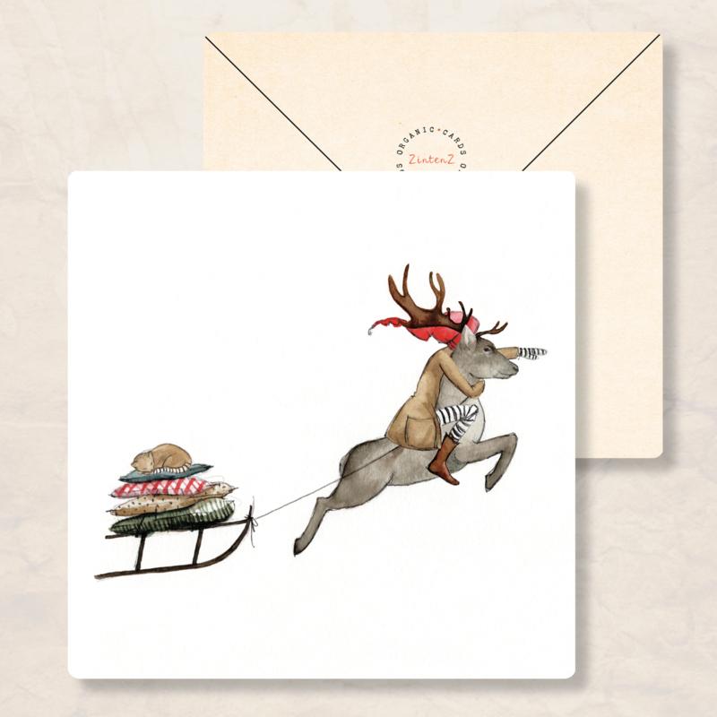 IsaBella Illustrations - Winter rendier
