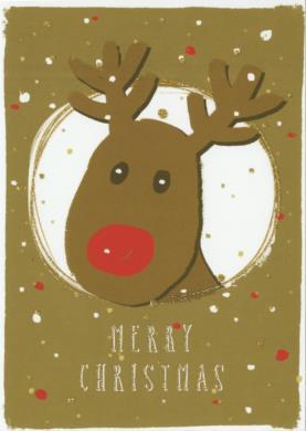 Madebymaggie - Merry Christmas (rendier)