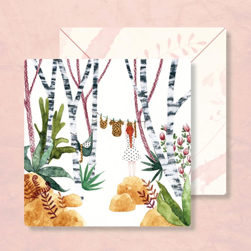 IsaBella Illustrations - Waslijn