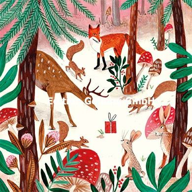 Caroline Bonne Müller - Dieren in het winterbos