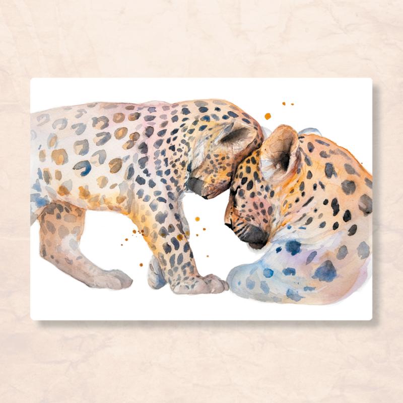 Veer Illustratie - Luipaard