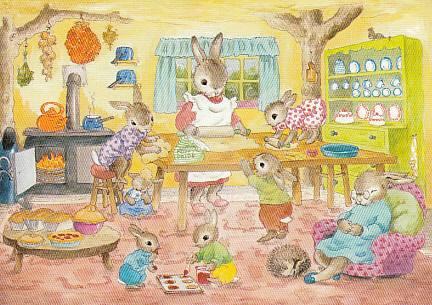 Jean Gilder - Mr. Bunny's baking day