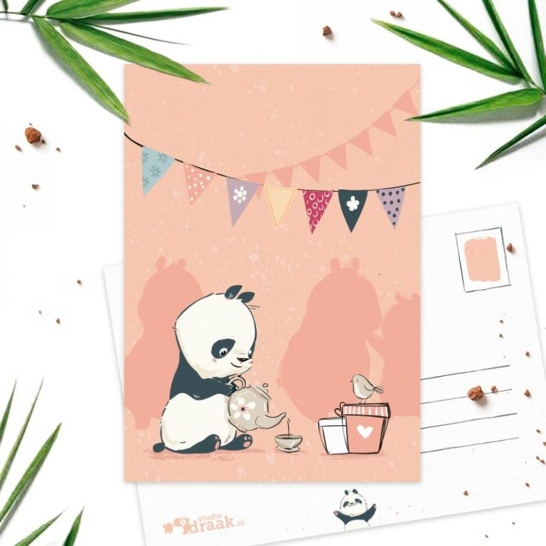 Studio Draak - 'Panda Party' Versie : Thee