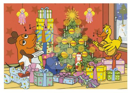 Die Sendung mit der Maus -  Bij de kerstboom