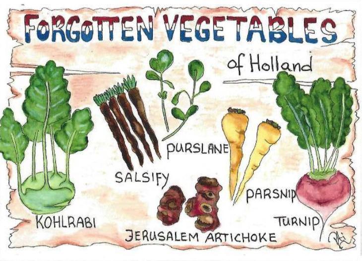 PtiSchti - Forgotten vegetables
