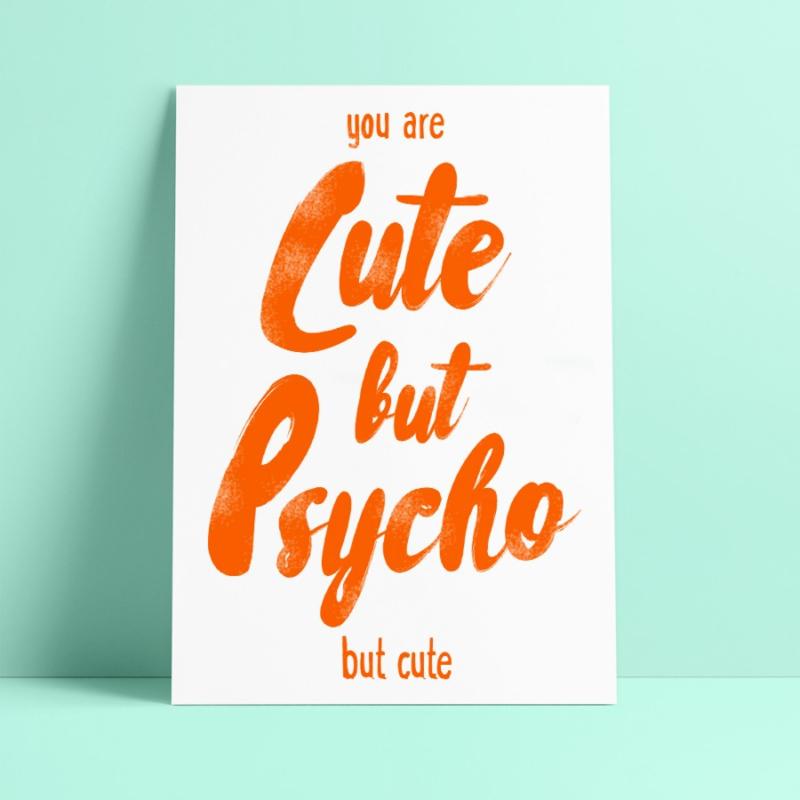 Studio Inktvis - Cute but psycho but cute (SI 011)