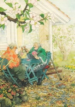 Inge Löök : Kaarten in de tuin - NR 4