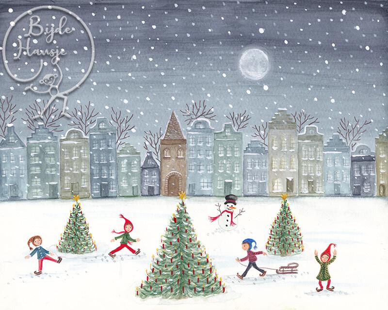 BijdeHansje - Christmas Skating
