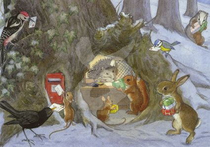Molly Brett - Christmas Post Office