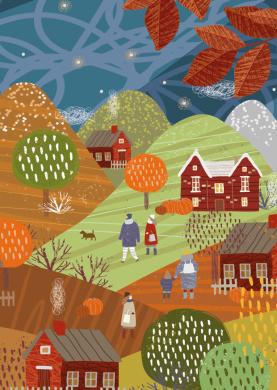 Ardea Studio  - Herfst landschap