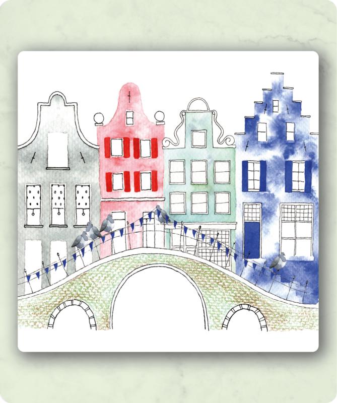 IsaBella Illustrations - Grachtenpand