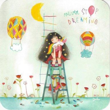 Editions des Correspondances : Never stop dreaming door Julian & Mila