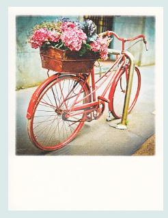 PolaCard - Bloemen fiets