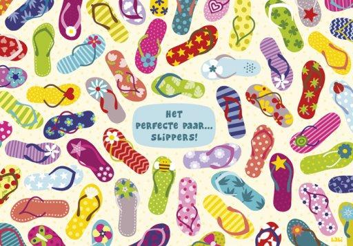 Lali - Het perfecte paar.....slippers!