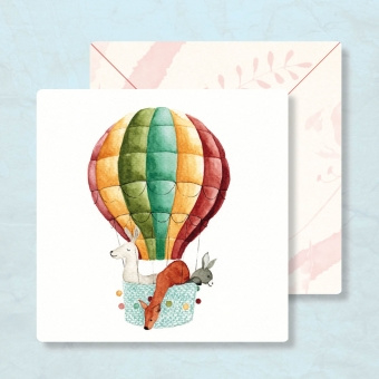 IsaBella Illustrations - Luchtballon
